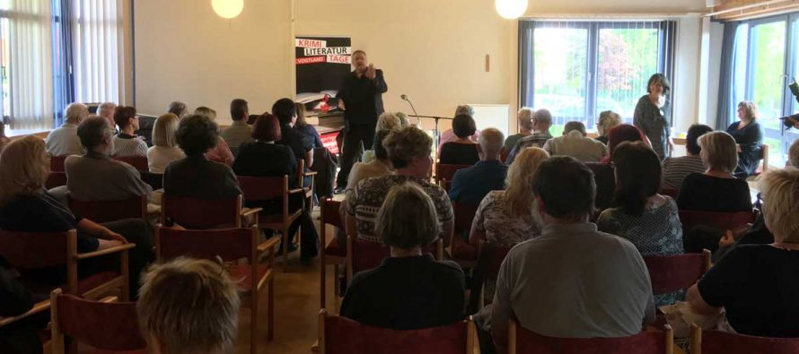 Peter Wilhelm bei den Krimi-Literatur-Tagen im Vogtland