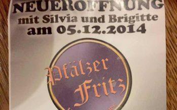 Der Pfälzer Fritz öffnet wieder