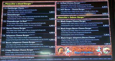 Pinocchio's Burger- und Steakhaus – Willst Du Hamburger? Willst Du Eis? Willst Du Kuchen?