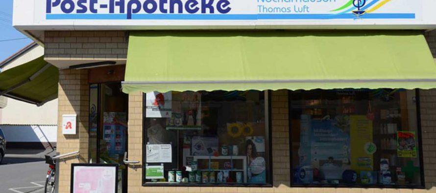 Mehr als nur heiße Luft – Post-Apotheke in Edingen-Neckarhausen