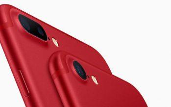 Apple stellt neue Geräte vor – rotes iPhone