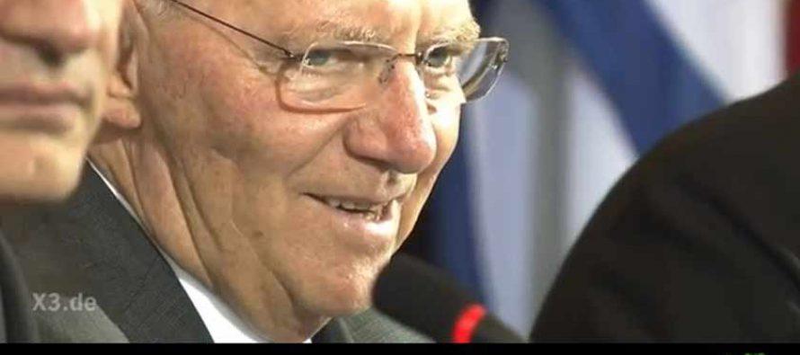Wenn Satire geschmacklos wird: extra 3 über Schäuble – Orden der Merkbefreiten für extra 3