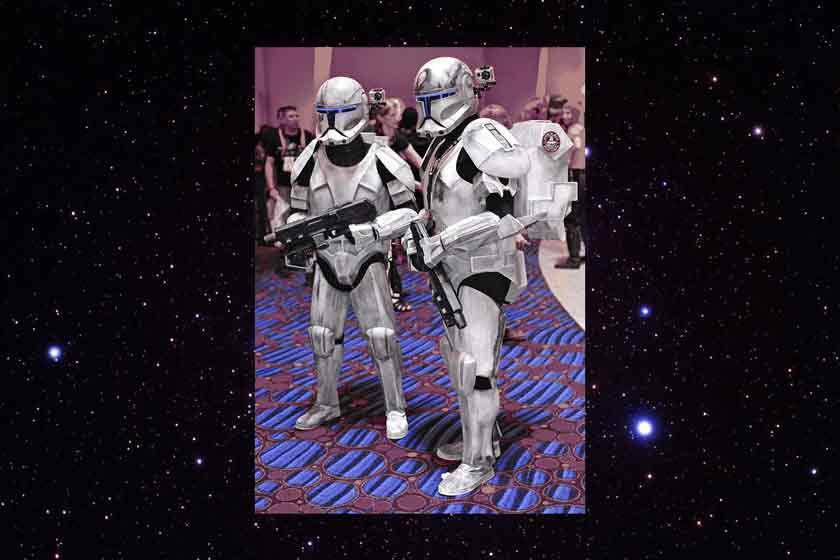 Bildrechte: Flickr Clone Troopers from Star Wars State Farm CC BY 2.0 Bestimmte Rechte vorbehalten