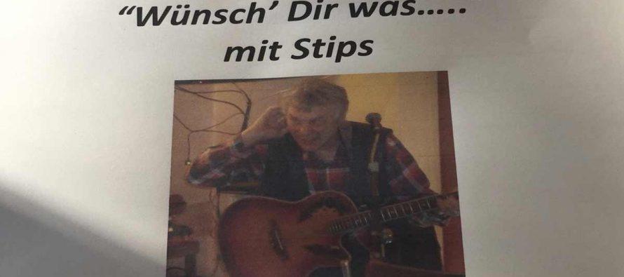 Wünsch Dir was von Stips – Live-Musik im Café Bistro EL-EL in Edingen