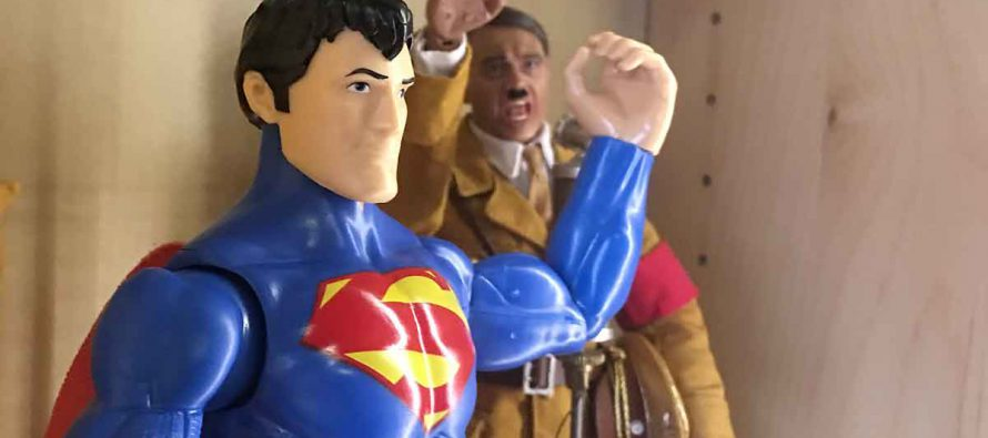 Superman v Adolf Hitler