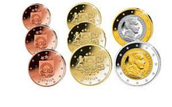 BTN – Vorstellung des Euro – Kursmünzensatzes Lettland