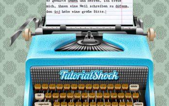 Schreibmaschine für WordPress