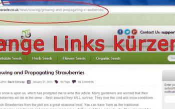Lange Links bequem kürzen – tinyurl.com