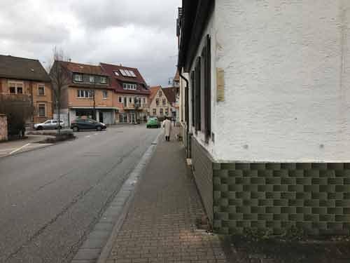 Schilderbürgerstreich in Edingen-Neckarhausen