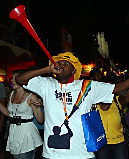 Uwe Seeler Vuvuzela