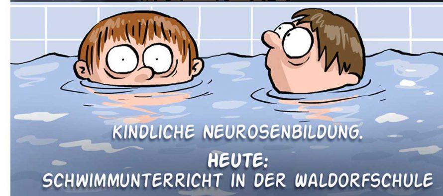 Kindliche Neurosenbildung – Schwimmunterricht in der Waldorfschule