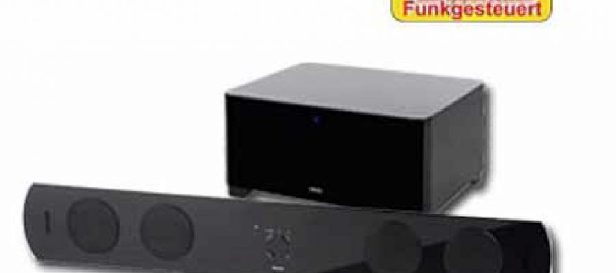 Watson AS 2101W Superslim Soundbar mit Funk-Subwoofer