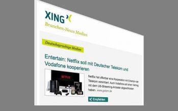 Xing-Newsletter: Den lese ich gerne