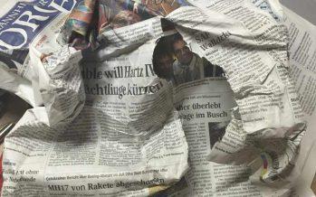 Zeitungslieferung mal anders